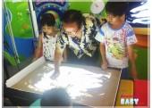 Lớp học vẽ tranh cát trong dịp hè 2013 đầy thú vị
