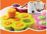 Khay chứa thức ăn cấp đông _ Beaba babycook - MS01