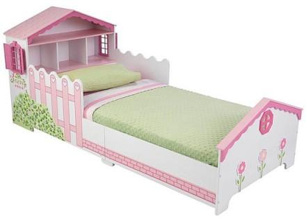 Giường ngủ bé gái dễ thương NT-001